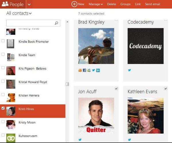 Outlook-social-media-links
