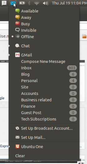 Ubuntu-Web-App-Gmail-system-tray