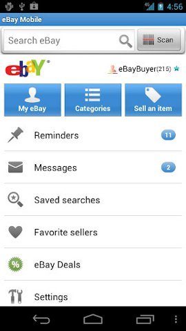 android-shopping-ebay
