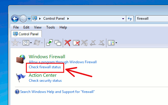 check-firewall-status