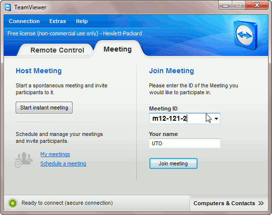 teamviewer-meeting-ID-PC