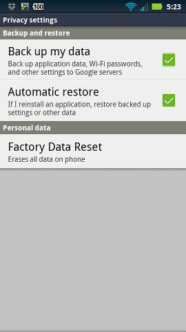 android-maintanence-master-reset