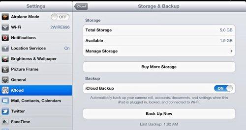 iCloud-StorageBackup