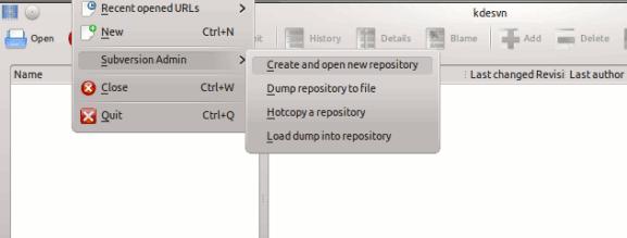 kdesvn-createrepository