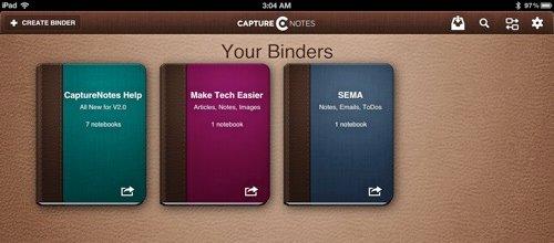 CaptureNotes-Binders