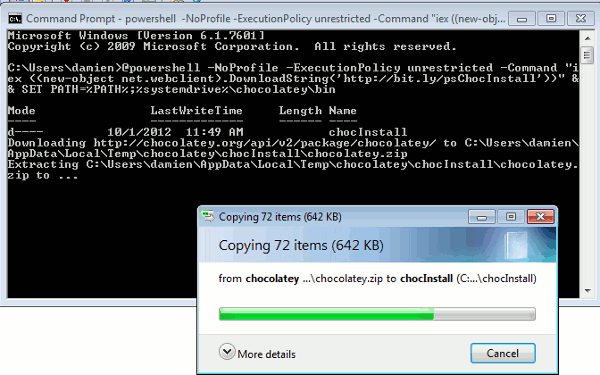 chocolatey-installation
