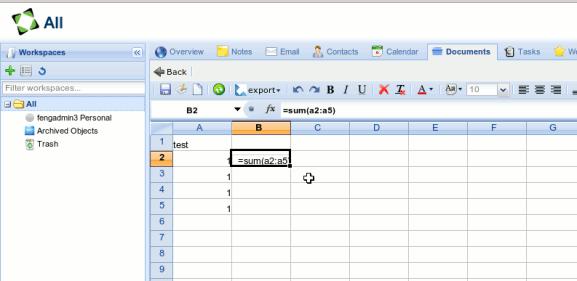fengoffice-gelsheet-spreadsheet