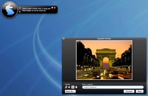 Grrrabit - Instant Screenshot Sharing for Mac