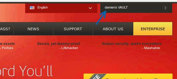 lastpass-access-vault