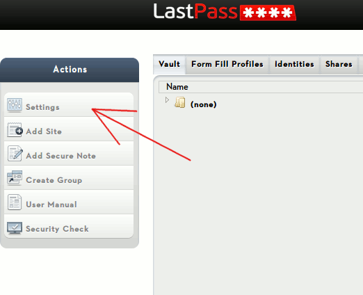 lastpass-settings