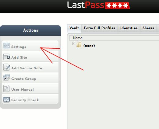 lastpass-settings