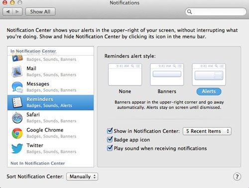 mac-osx Notification_Alerts