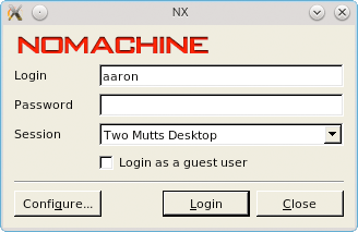 How to Set up Nomachine NX between Two Linux Systems