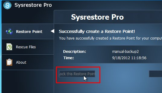 sysrestore-pro-lock-restore-point