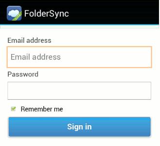 FolderSync-Lite-App-sign-in-to-dropbox-account