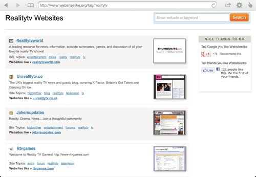 Websiteslike-comparison