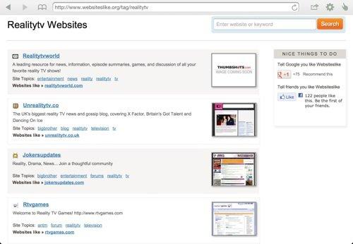 Websiteslike-comparison