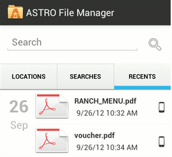 android-ASTRO-welcome-screen