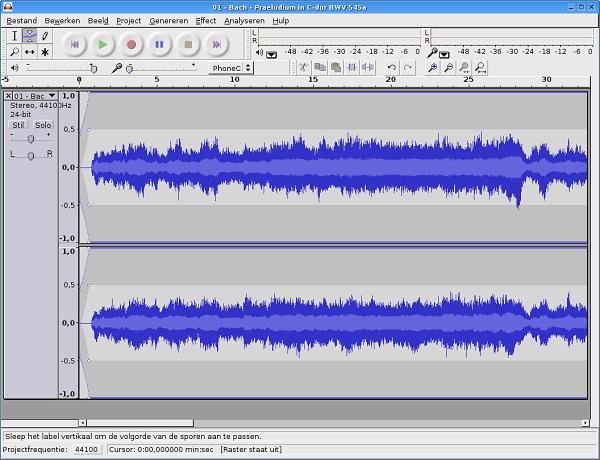 Audio Edit - Audacity