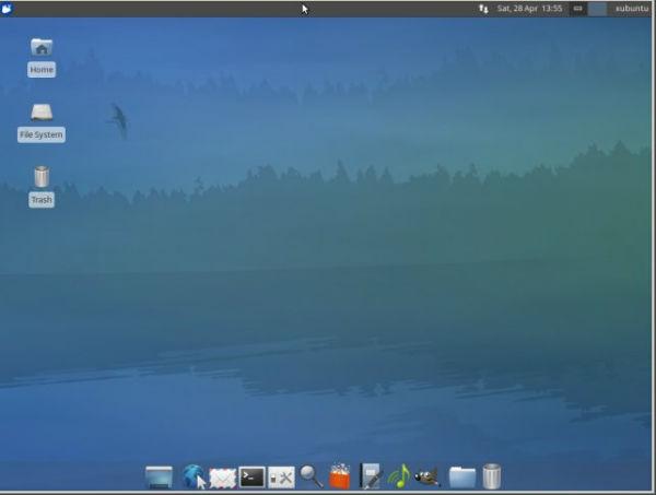 linux desktop xubuntu