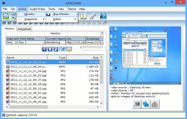 1avcenter-start-monitoring