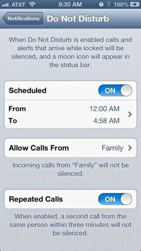 Disturb-Schedule