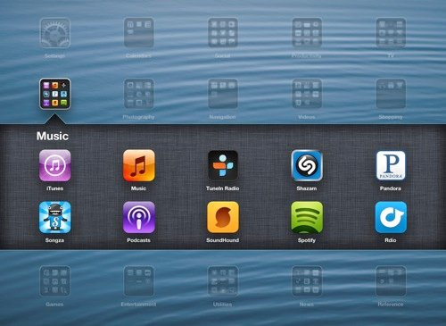 Navigation-Folders