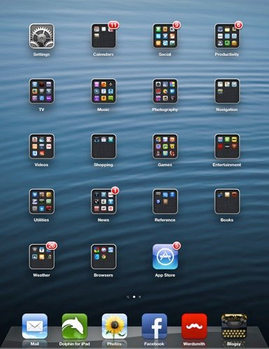 Navigation-Homescreen