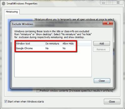 SmallWindows-Exclude-Windows-Google-Chrome
