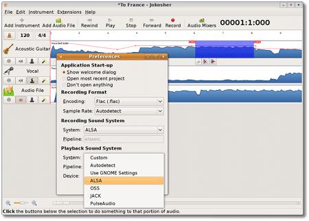 Audio Edit - Jokosher