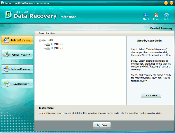 data-recovery-main-screen