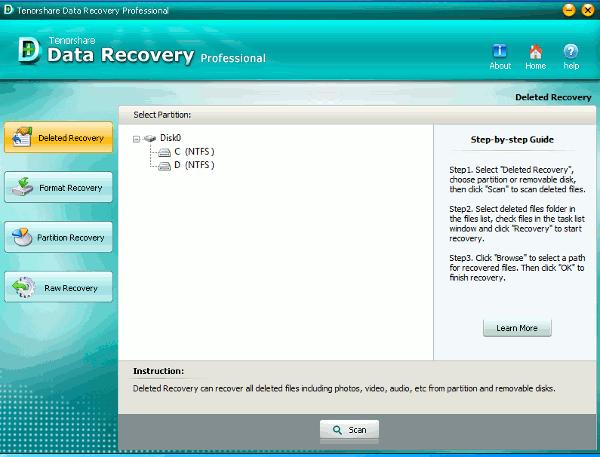 data-recovery-main-screen