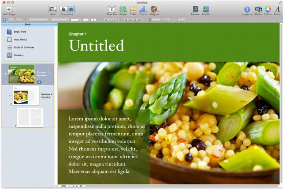 ibook author - fonts galore