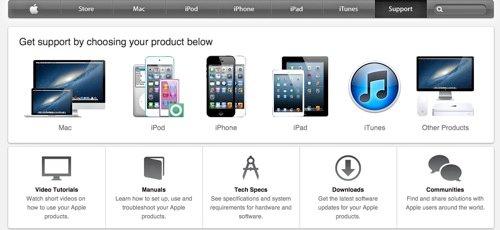 Apple Online Support