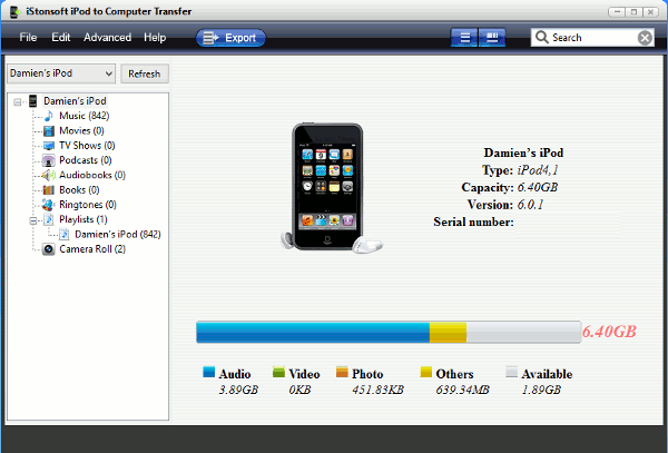 ipod-pc-transfer-ipod-connected