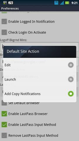 lastpass-default-action