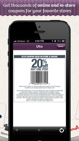 using tech in gift giving: retailmenot