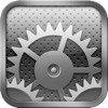 The iOS Settings icon.