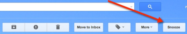 Add a snooze button to your Gmail.