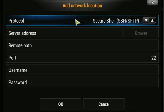 xbmc-addsource-sftp
