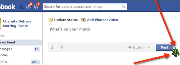 Get a new mouse cursor on Facebook with FB Cursors.