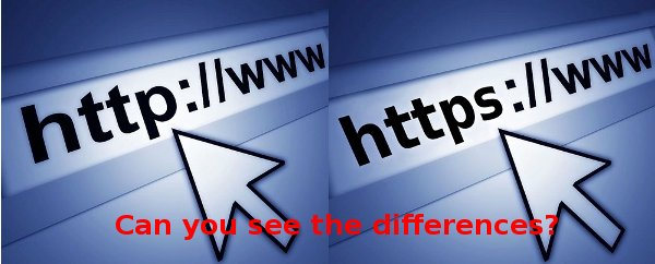 HTTPS-HTTP-differences