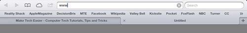 Safari-URL