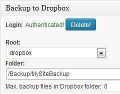 backwpup-dropbox-authentication-successful