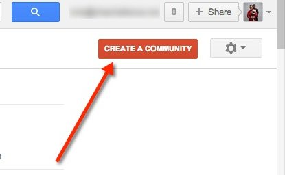 create-google-community-button
