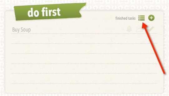 View your completed tasks in Eisenpower.