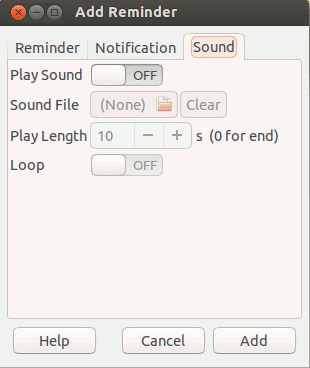 remindor-sound-settings