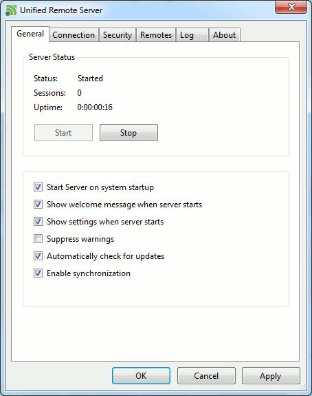 unifiedremote-windows-app
