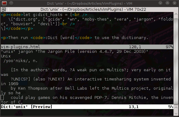 8 vim plugins to enhance your productivity