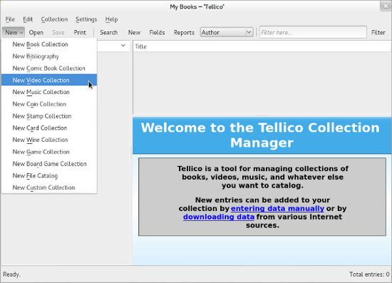 DigitalLibrary-Tellico